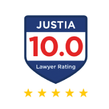 Justia Lawyer Rating Badge - Jimmy McGee Wilmington, NC Criminal Defense Lawyer