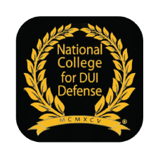 National College for DUI Defense Badge - Jimmy McGee Wilmington, NC DUI Lawyer